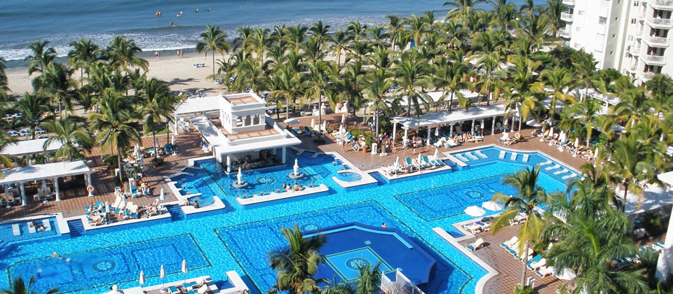 Hotel Riu Palace Pacifico, Nuevo Vallarta, Mexico - All Inclusive 24 hours